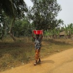 The Water Project: Mapeh Community -  Carrying Water