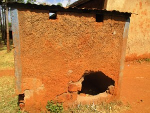 The Water Project : 8-kenya4649-latrines