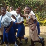 The Water Project: Matende Girls High School -  Having Fun