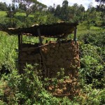 The Water Project: Emarembwa Community -  Latrines
