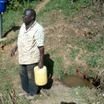 The Water Project: Bumavi Community -  Mr Ambasi