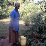 The Water Project: Eluhobe Community -  Fetching Water