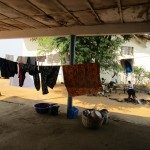 The Water Project: Tintafor, Police Barracks C-Line Community -  Clothes Line