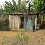 The Water Project: Petifu Junction Community -  Latrine Outside