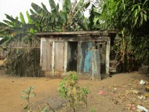 The Water Project : 8-sierraleone5104-latrine-outside