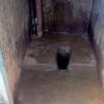 The Water Project: Bukhulunya Primary School -  Inside Latrine