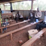 The Water Project : 9-kenya4653-support-staff-in-dining-hall