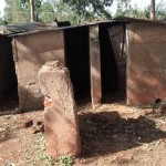 The Water Project: Ebusiloli Primary School -  Latrines
