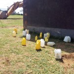The Water Project: Kalenda Primary School -  Water Containers