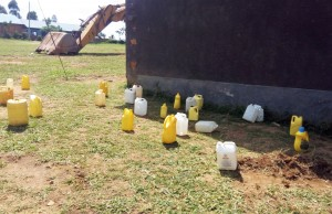 The Water Project : 9-kenya4657-water-containers
