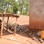 The Water Project: Katitu Community A -  Dish Rack