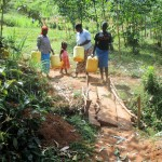 The Water Project: Mutambi Community, Kivumbi Spring -  To The Spring
