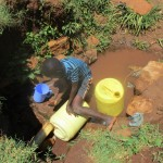The Water Project: Mahanga Community -  Omollo Spring