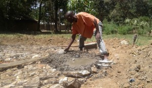 The Water Project : 11-kenya4639-construction