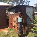 The Water Project: Shitaho Community B -  Local Latrine
