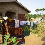 The Water Project: Sumbuya Community, Quarry Road -  Clotheline