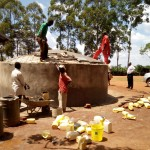 The Water Project: Shipala Primary School -  Construction