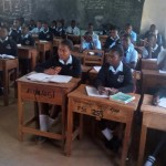 The Water Project: Friends Secondary School Shamakhokho -  Students In Class