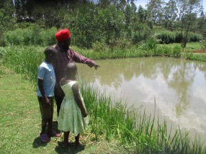 The Water Project:  Mr Vidija And His Fish Ponds