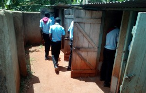 The Water Project : 13-kenya4660-boys-latrines