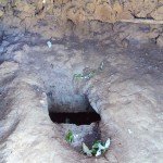 The Water Project: Shitaho Community C -  Inside Latrine