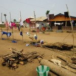 The Water Project: Malokoh Community, #4 Mabesseneh Road -  Clothesline