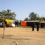The Water Project: Rogbere Community -  Clothesline
