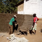 The Water Project: Mahanga Primary School -  Construction
