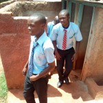 The Water Project: Friends Secondary School Shamakhokho -  Boys Latrines