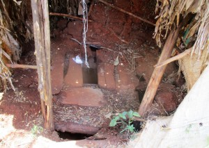 The Water Project : 14-kenya4720-inside-latrine