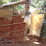 The Water Project: Wanzuma Community -  Latrine