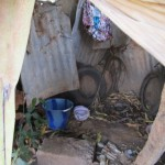 The Water Project: Malokoh Community, #4 Mabesseneh Road -  Bath Shelter