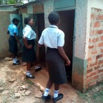 The Water Project: Friends Secondary School Shamakhokho -  Girls Latrines