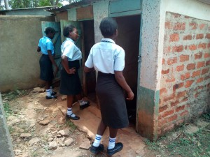 The Water Project : 16-kenya4660-girls-latrines