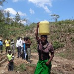 The Water Project: Shitungu Community A -  Protected Spring