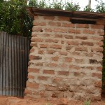 The Water Project: Mbindi Community C -  Latrine