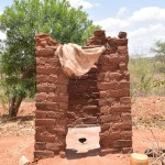 The Water Project: Waita Community A -  Latrine