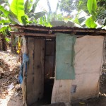 The Water Project: Rogbere Community -  Latrine Outside