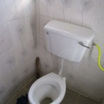 The Water Project: Sumbuya Community, Quarry Road -  Bathroom Inside