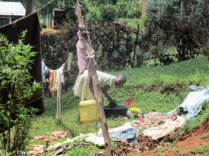 The Water Project : 17-kenya4720-washing-clothes