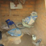 The Water Project: Malokoh Community, #4 Mabesseneh Road -  Inside A Latrine