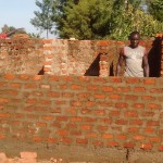 The Water Project: Rosterman Secondary School -  Latrine Construction