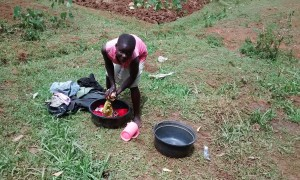 The Water Project : 18-kenya4720-washing-clothes