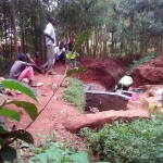 The Water Project: Emabungo Community -  Construction