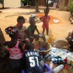 The Water Project: Victory Evangelical Church -  Children Washing Cups