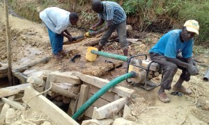 The Water Project:  Gold Miners At Work
