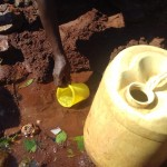 The Water Project: Wanzuma Community -  Fetching Water