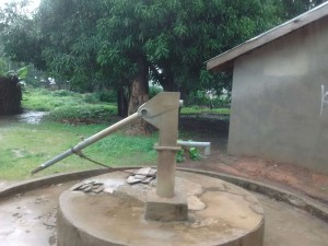 The Water Project:  Seasonal Well Without Water