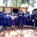 The Water Project: Shipala Primary School -  Finished Latrines