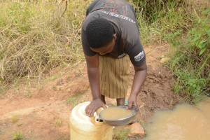 The Water Project:  Another Dirty Water Source